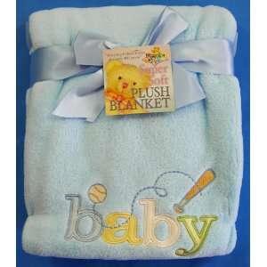 Owen Super Soft Baby Blanket, Blue Baby