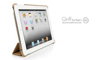 SGP iPad 2 Leather Case Griff Series Vintage Brown