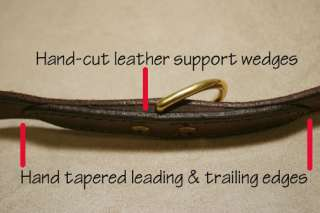 dog collar / leash Amish made leather all purpose  usa