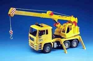 Bruder Toys MAN Tele Crane TC 4500 Crane Truck NEW