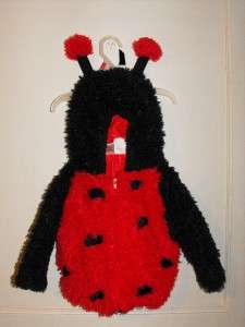 Toddler Baby LADY BUG Jacket HALLOWEEN Costume Size 24 Months