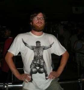 Brass Balls Strongman T shirt Funny Retro Tee Mens S M L XL