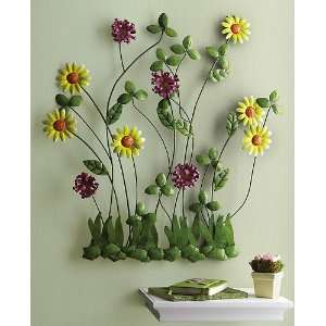 Sunny Flowers Wall Art