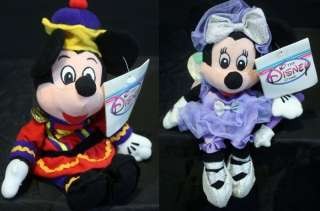 ♥ THE NUTCRACKER Ballet MICKEY & MINNIE MOUSE Plush