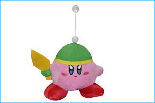 New super mario (Kirby) Plush Figure Toy   7