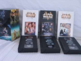Star Wars Trilogy 3 VHS Box Set 2000 Digitally Mastered