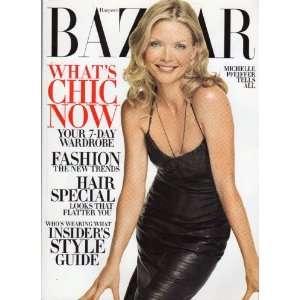 Bazaar October 2002 (MICHELLE PFEIFFER): HARPERS BAZAAR: Books