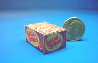 Miniature Popular Name Brand Candy Counter Box Can15