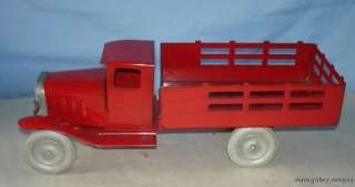 OLD WYANDOTTE STAKE TRUCK WITH THE ORIGINAL BOX