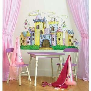Candy Castle Big Vinyl Mural Wall Stickers