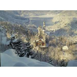 Ludwigs Castle By E. Streichan   1000 Piece Jigsaw Puzzle