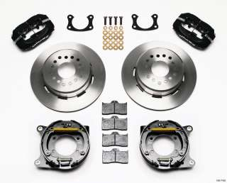 Ford Wilwood Rear Disc Brake Kit 9 Big Bearing Rear End w/ 2.5
