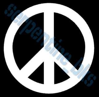 Peace Sign Car Vinyl Window Bumper Decal Sticker