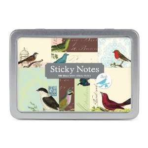 Cavallini Sticky Notes Birds: Home & Kitchen