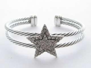 Star Clear Crystal Cuff Bracelet Jewelry Scentsy