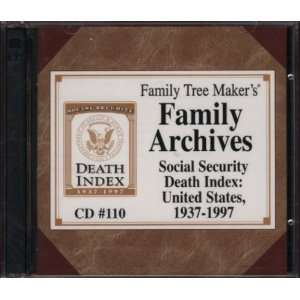 Family Tree Makers Family Archives Social Security Death