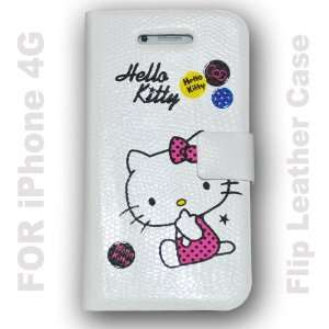 Hello Kitty Flip Leather Case Hard Case Cover for Apple