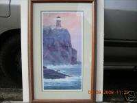 Split Rock Lighthouse by David Knowlton 3rd Lithograph