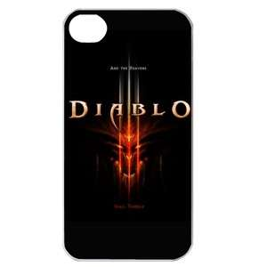 NEW Diablo 3 Logo iPhone 4 or 4S Hard Plastic Case Cover