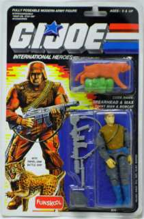Spearhead & Max GI Joe Action Figure by Funskool Hasbro
