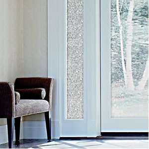 Etched Glass Decorative Window Film On PopScreen