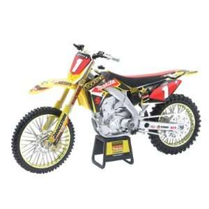 New Ray Chad Reed RMZ450 Motorcycle Model 112 Scale Toys