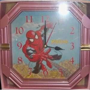 Marvel Comics SPIDERMAN Wall Clock NIP