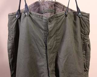 MENS VINTAGE WWII A 9 ARMY AIR FORCE FLYING PANTS sz 42