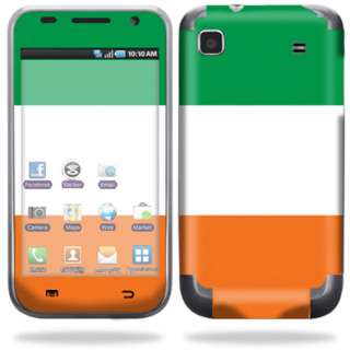 Skin Decal Cover for Samsung Galaxy S 4G Cell Phone   Irish Flag