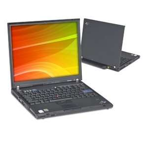 IBM ThinkPad T60 Intel Core Duo Laptop with AC Adapter, Windows XP