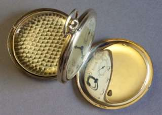 ARE BIDDING FOR AN A. LANGE & SÖHNE OLIW SOLID 14K GOLD POCKET WATCH
