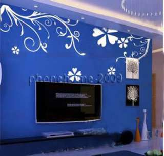 Flower Vine Wall Paper Art Sticker Decor Decal Sticker ML96