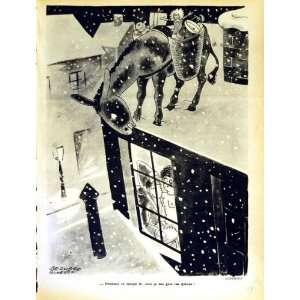 LE RIRE (THE LAUGH) FRENCH HUMOR MAGAZINE SNOW SANTA: Home & Kitchen