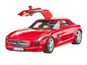 Revell Model Kit   Mercedes Benz SLS AMG Car   67100   PAINT & GLUE