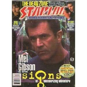 302 (VF) Mel Gibson in Signs, Spy Kids, Reign of Fire magazine Books