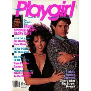 Springsteens Glory Days; Sean Penn: Playgirl Magazine Inc.: Books