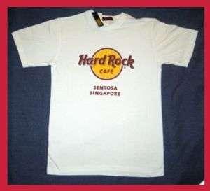 Hard Rock Cafe SENTOSA SINGAPORE Logo T Shirt   XXL