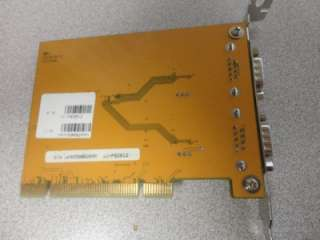 SIIG CyberPro JJ P02012 B Dual Port Serial Adapter Card