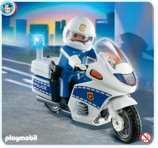 PLAYMOBIL === Police 4262: Motorcycle Patrol === NEW
