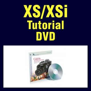 Canon Digital Rebel XS and XSi Blue Crane Tutorial DVD