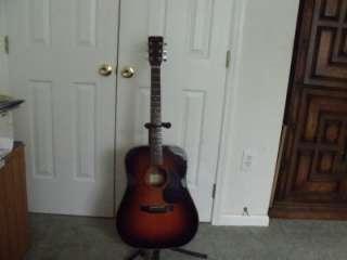 Acoustic Guitar Martin Sigma Sunburst D Series Great Sound