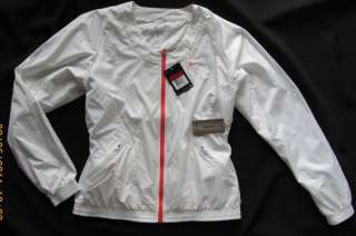 NWT~NIKE~Womens SHARAPOVA White Training Tennis Windbreaker Jacket