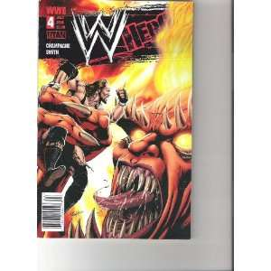 WWE Heroes Comic Undertaker Cover (July 2010 Number 4): Books