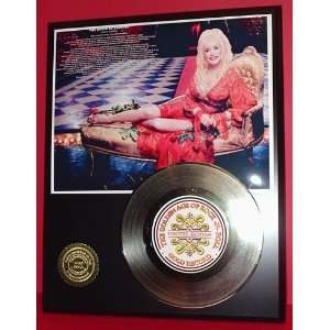 Dolly Parton 24kt Gold Record LTD Edition Display ***FREE PRIORITY