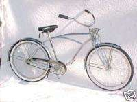 CRUISER COMPLETE BIKE LOWRIDER BICYCLE SPRINGER CHROME