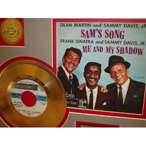 Rat Pack Me And My Shadow Gold Record Limited Edition