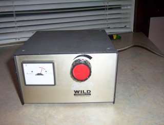 Wild Heerbrugg MTR 19 Power Source Microscope supply