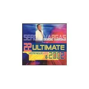Sergio Vargas 22 Ultimate Merengue Hits 4 2002 Sergio Vargas Music