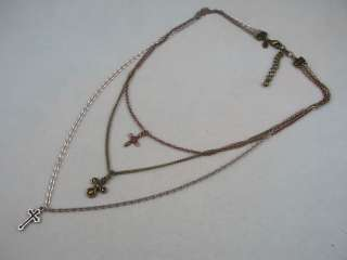 NEW Premier Designs Simple Truth Cross Necklace
