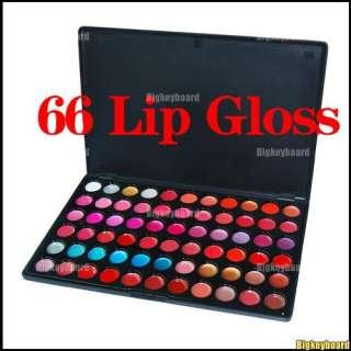 66 Color Lip Gloss Set Makeup Palette Lipstick Cosmetic